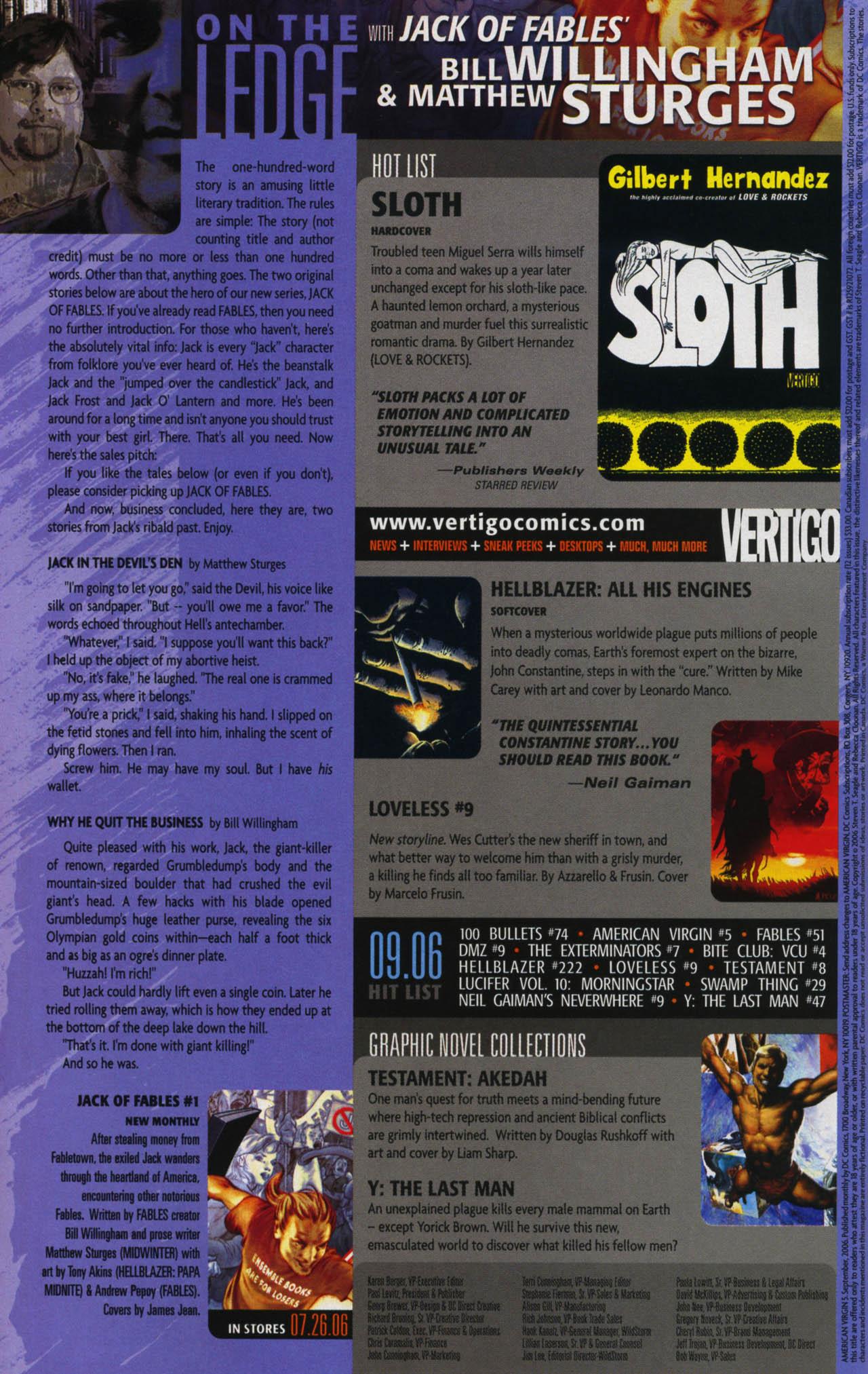 Read online American Virgin comic -  Issue #5 - 22