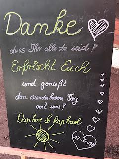 Dankeschön Tafel, Bunte Sommerblumen-Hochzeit am See und in den Bergen, Riessersee Hotel Garmisch-Partenkirchen, Bayern, nahe der Zugspitze, Hochzeitsplanerin Uschi Glas