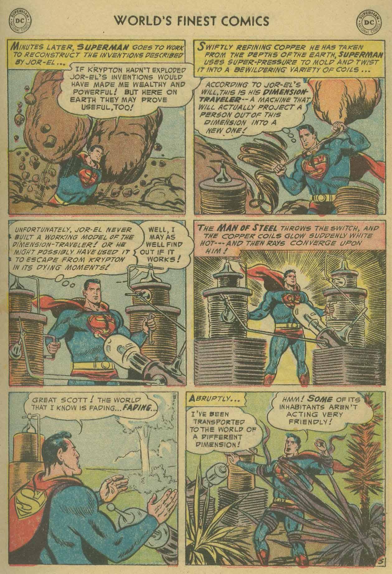 Read online World's Finest Comics comic -  Issue #69 - 7