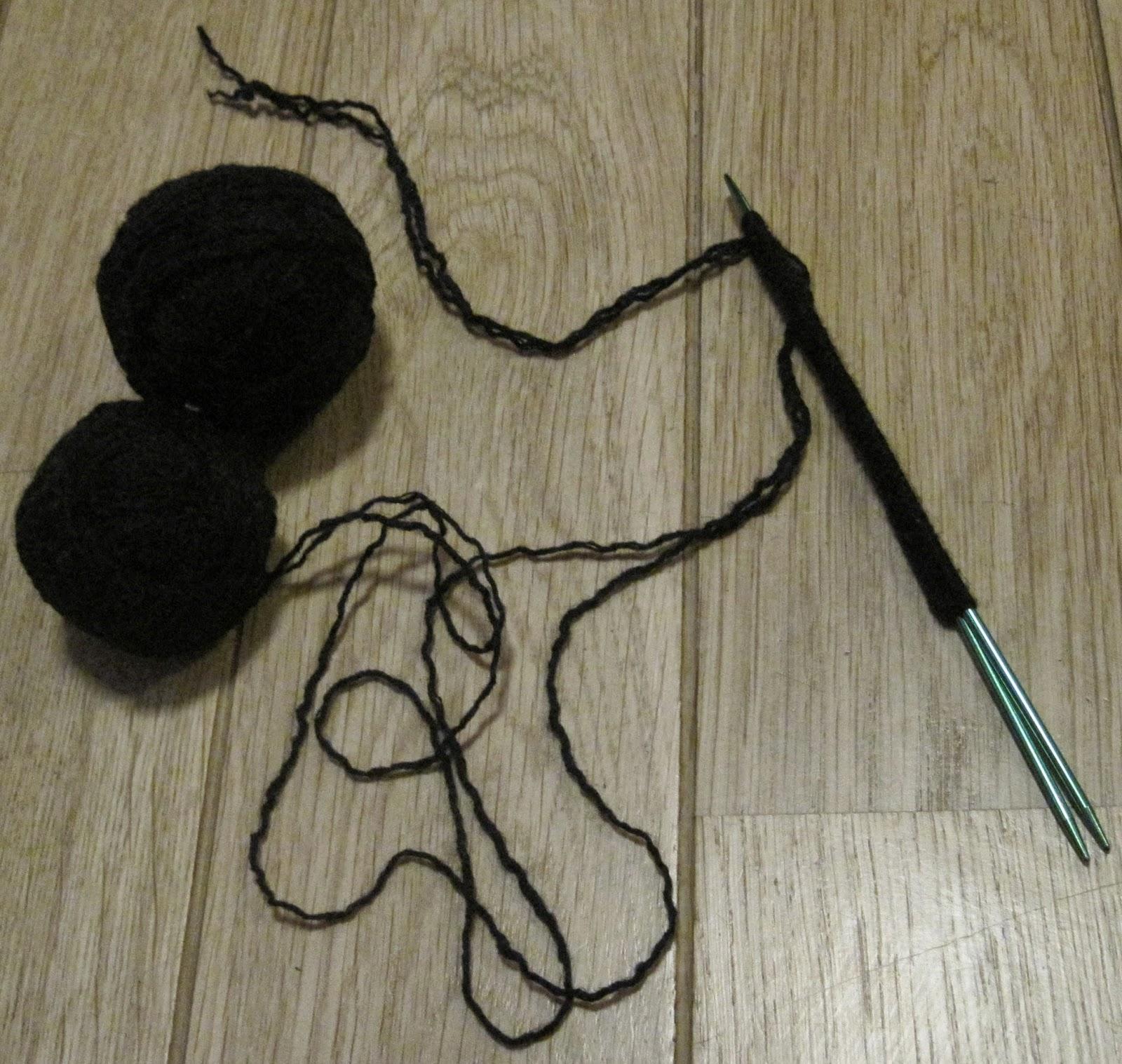 jak zrobić rękawiczki z klapką na drutach