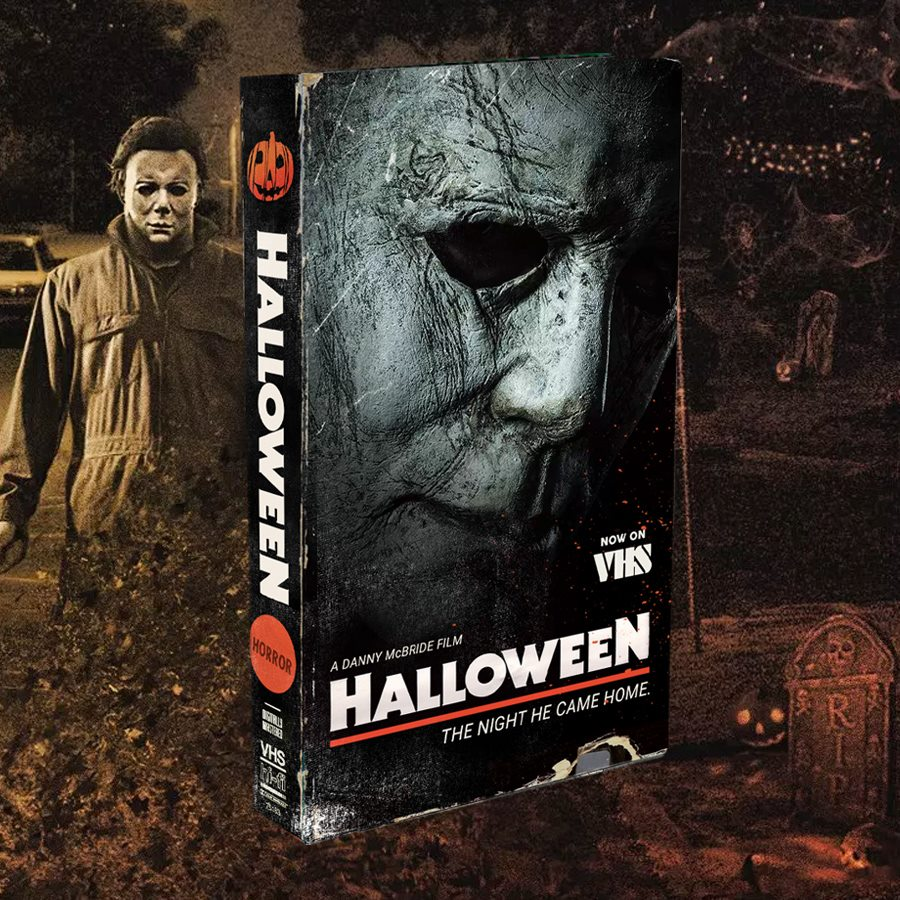The Horrors of Halloween: HALLOWEEN (2018) VHS cover by ...