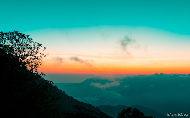 Sunset at Kodchadri Peak