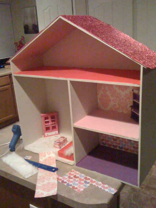 Shear goodies make your own doll house customize almost - Make your house a home ...