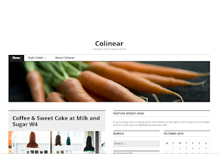Colinier Theme of top 10 free wordpress themes