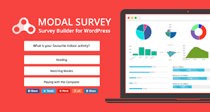 Modal Survey empowers you to easily create poll and survey
