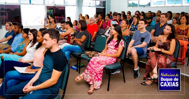 UFRJ Campus de Caxias promove colocação de Grau