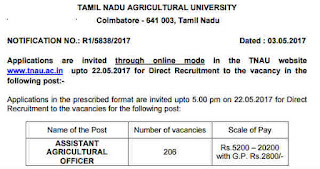 tnau-aao-post-recruitment-notification-www.tngovernmentjobs.in