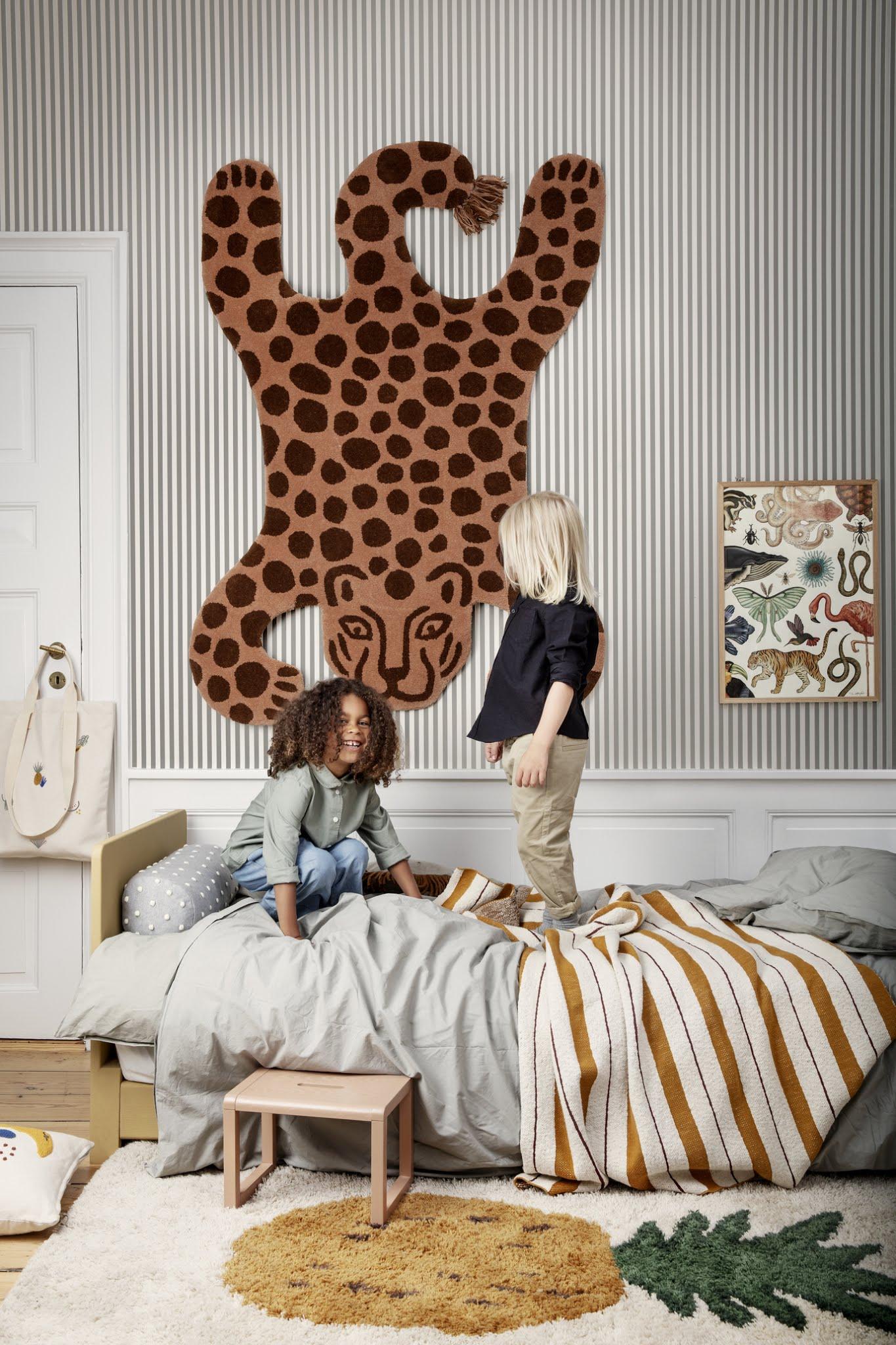 zwierzęce dodatki do pokoju dziecięcego