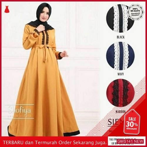 GMS141 MSLMW141G38 Gamis Dress Sienna Renda Dropship SK2109156233