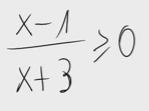 8.Inecuación - Cociente de polinomios 2