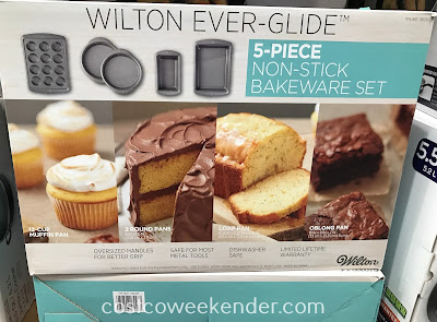 Costco 1161283 - Anyone who loves baking will love the Wilton Ever-Glide Non-Stick Bakeware Set