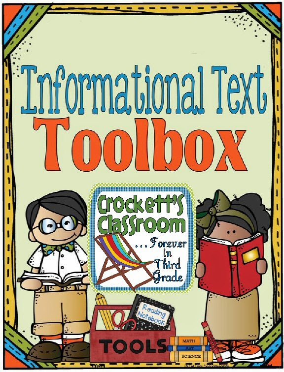 Informational Text Toolbox ---Crockett's Classroom
