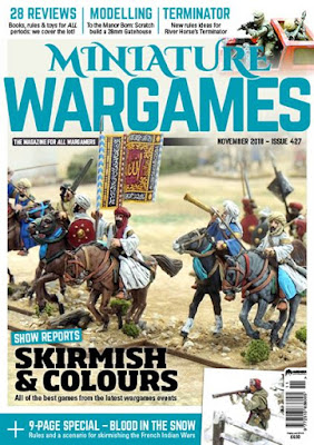 Miniature Wargames 427, November 2018