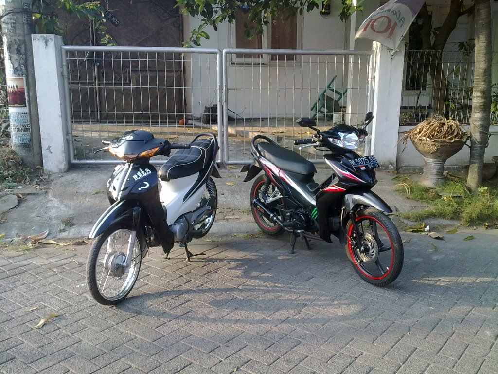 Koleksi Ide Modifikasi Motor Supra Fit X 2007 Terbaru Palm Modifikasi