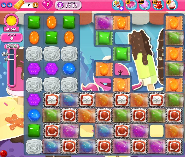 Candy Crush Saga 1741