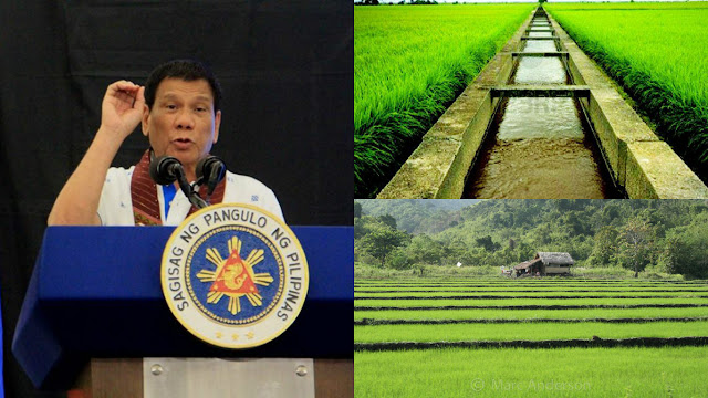 GOOD NEWS: Pres. Duterte Approves Free Irrigation, Gives Additional P2.3B To NIA READ HERE!