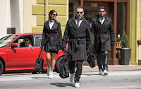 Jon Hamm, Jon Bernthal and Eiza Gonzalez in Baby Driver (30)