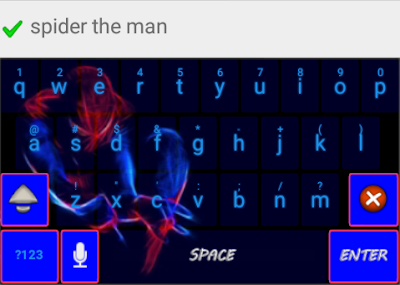 spiderman keyboard skin