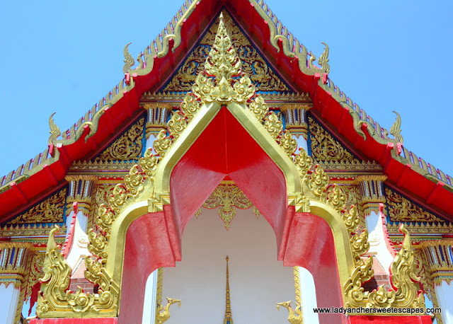 one of the temples in Wat Chalong complex