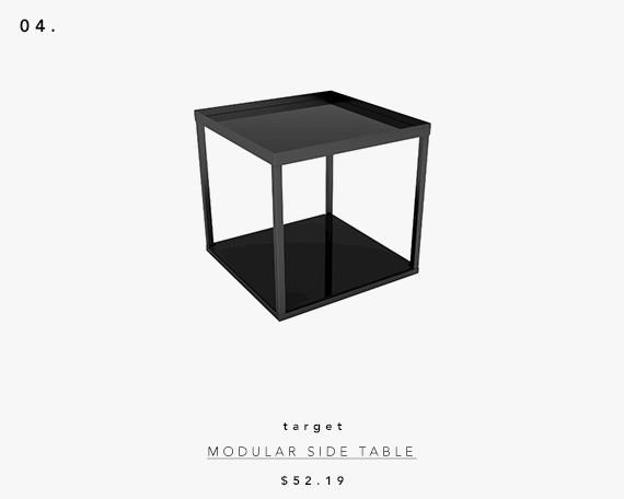 5 UNDER $70: Modern Accent Tables | modular side table
