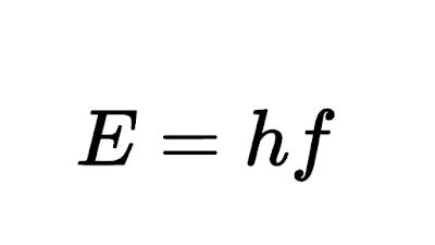 Energia de un foton o un cuanto de luz