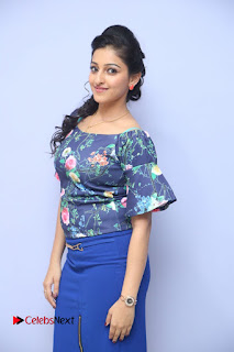 Actress Mouryani Stills in Short Dress at Janaki Ramudu Audio Launch  0071