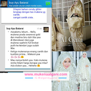 11 Pusat Grosir Mukena Al Gani, Suplier Mukena Al Gani, Distributor mukena al gani, Jual mukena al gani, Mukena al gani by yulia, Grosir Mukena algani, Mukena Al gani Murah, Mukena Al Gani Tanah Abang, Jakarta
