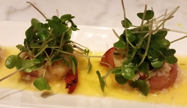 Grilled Scallop with ham