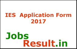 IES  Application Form 2017