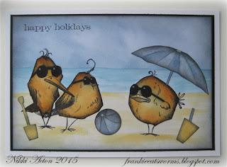 Crazy Birds on the Beach - Addicted to Art