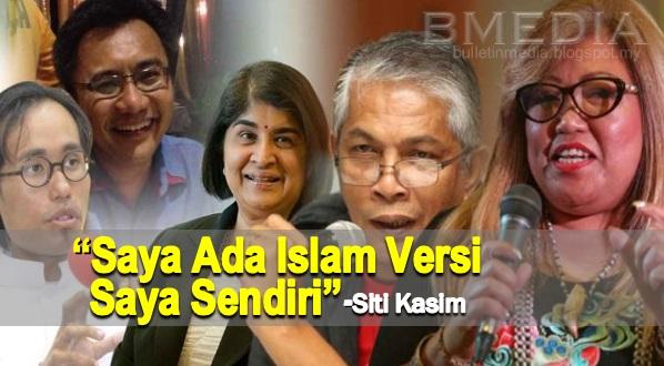 Siti Kassim: Saya Ada Islam Versi Saya Sendiri