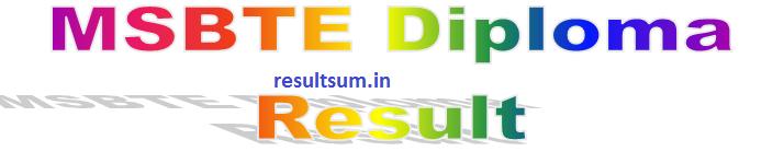 MSBTE Summer Result 2016