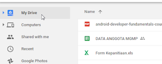 Tutorial Menampilkan File Google Drive di Blog