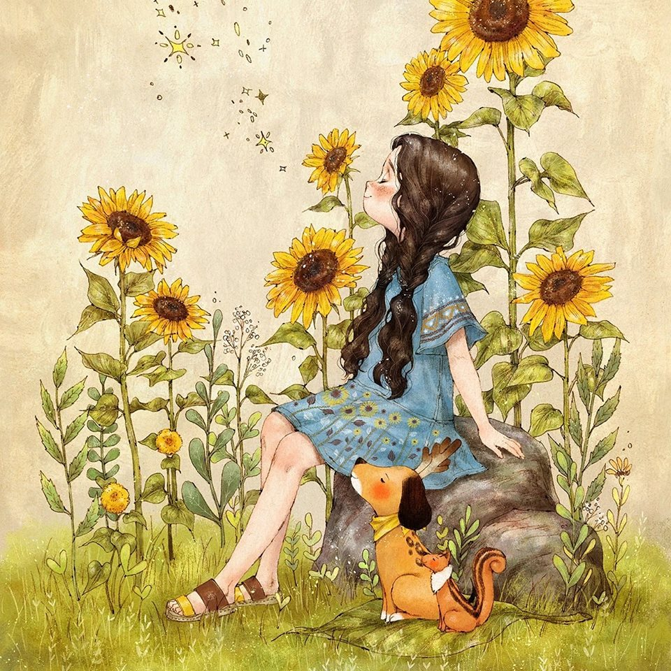 Image Result For Rain And Flowers