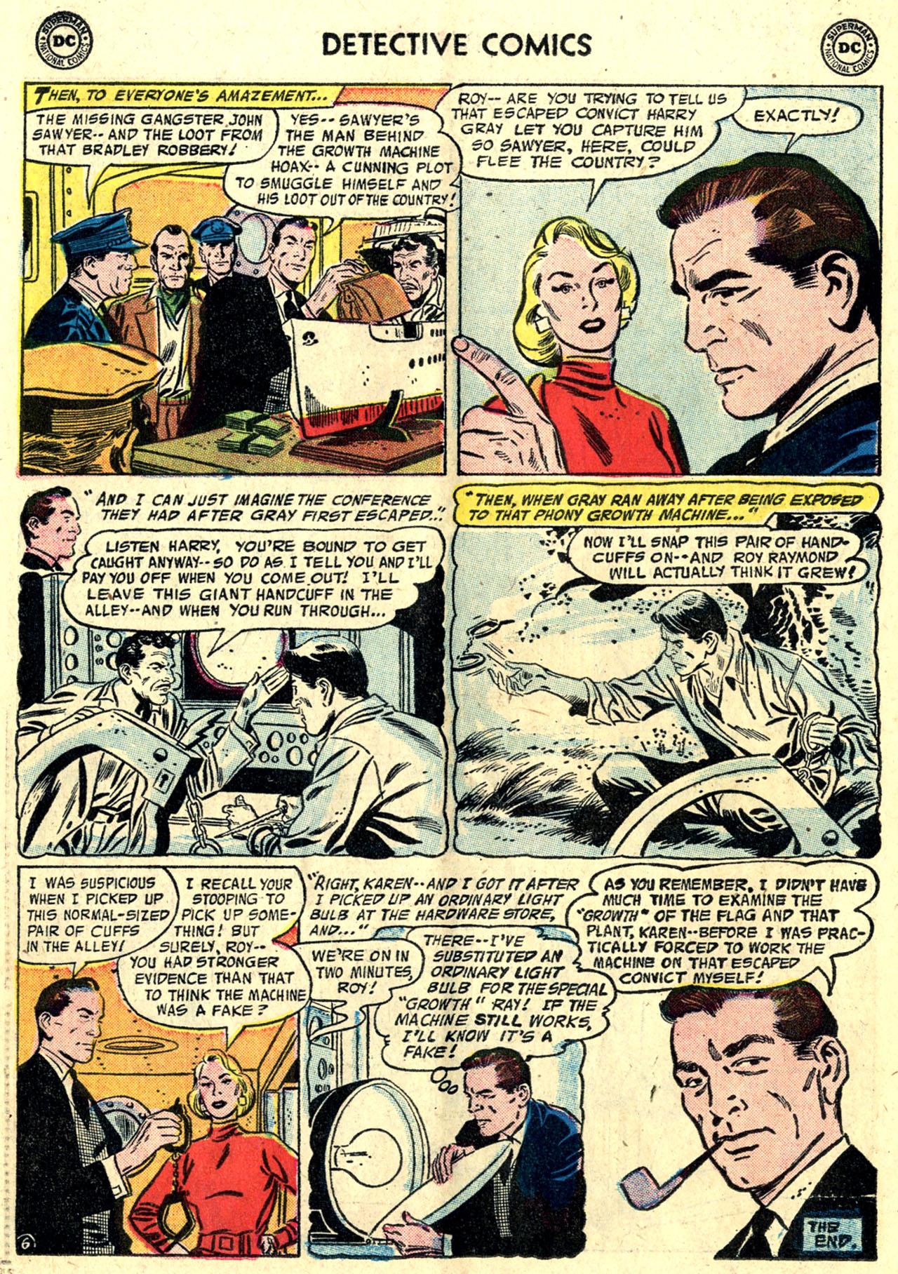 Read online Detective Comics (1937) comic -  Issue #243 - 22