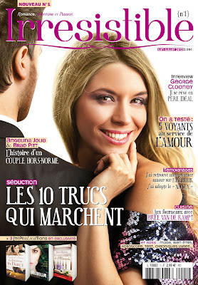"Irrésistible le premier ""feel good"" magazine"
