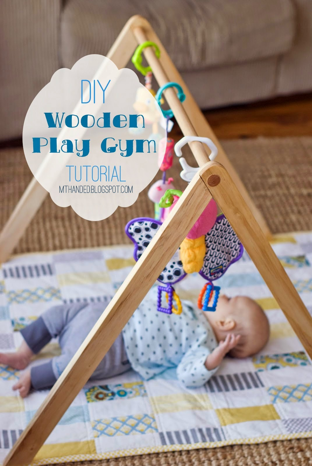 Helping Kids Grow Up How To Make Your Own Wooden Play Gym