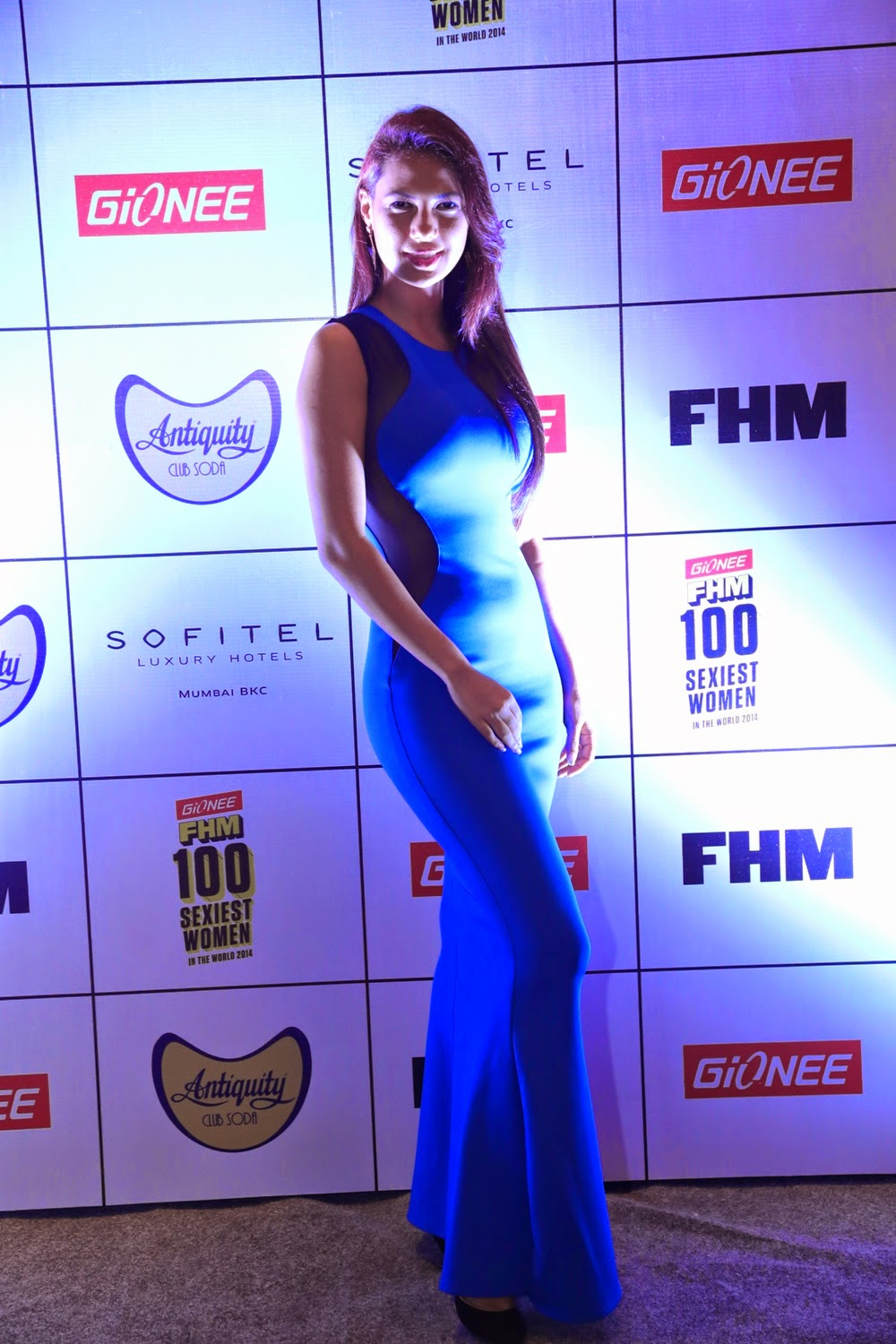 Rochelle Maria Rao at Gionee FHM Sexiest 100