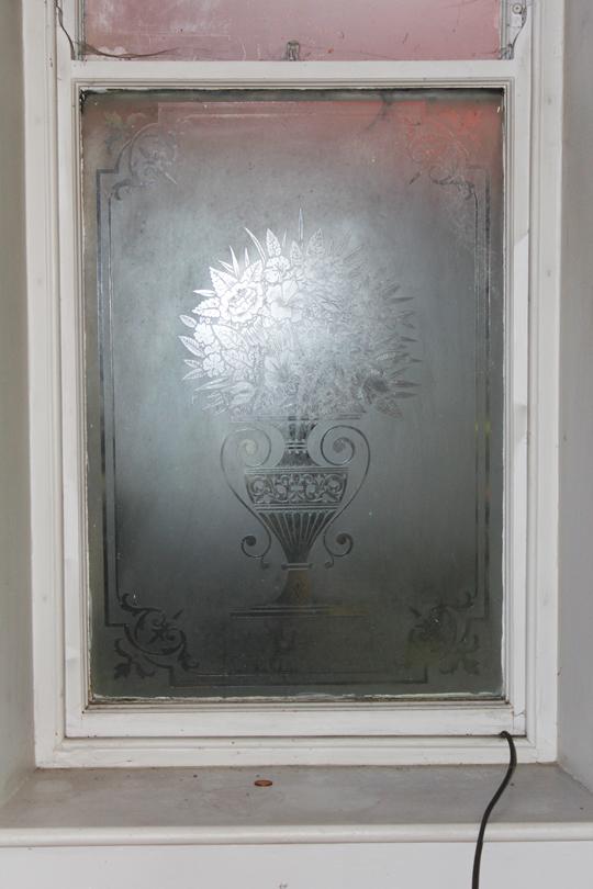 Victorian glazed window