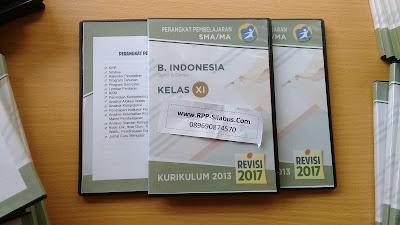 RPP Bahasa Indonesia Kelas 11 Kurikulum 2013 Revisi 2017