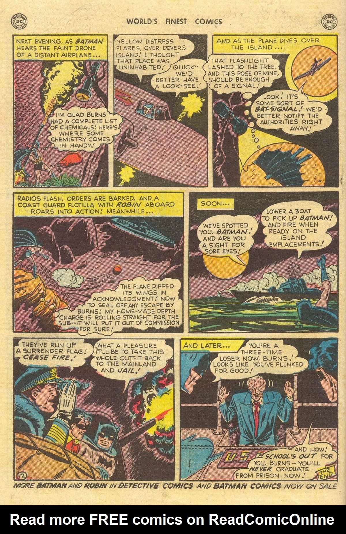 Read online World's Finest Comics comic -  Issue #51 - 74