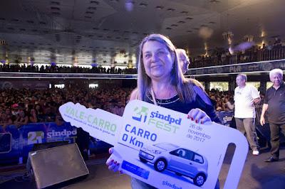 Associada há mais de 30 anos é contemplada com o prêmio máximo da 21ª Sindpdfest