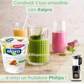 Logo Crea il tuo Smoothie e vinci gratis 3 frullatori Philips
