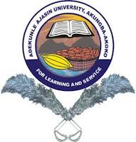 2018/2019 AAUA Part-Time (IPTP) Form is Out: Diploma (2Years), Undergraduates (4 & 5 Years), Postgraduate