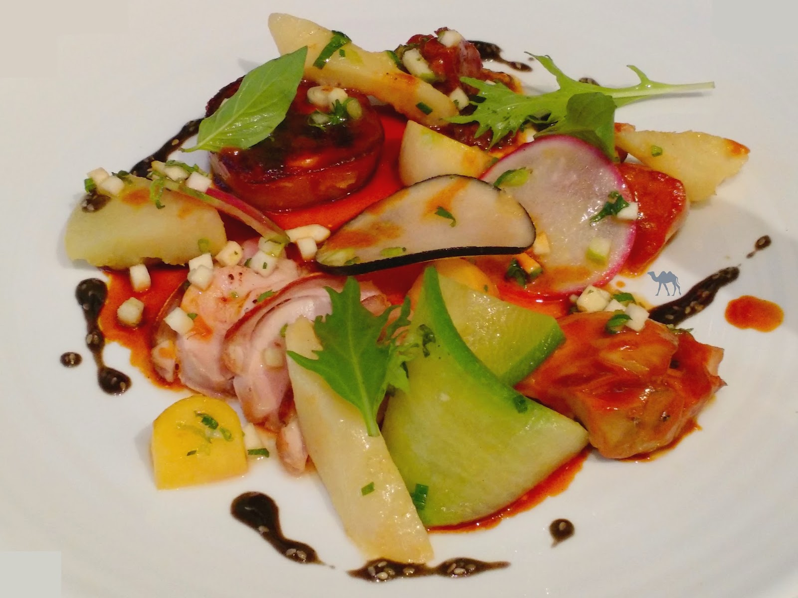 Le Chameau Bleu - Blog de Gastronomie & Voyage -KGB - Cochon de lait confit Restaurant Paris