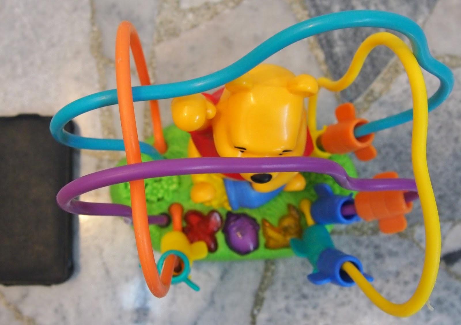 Juaimurah Fisher Price Winnie The Pooh Bead Maze Toy With