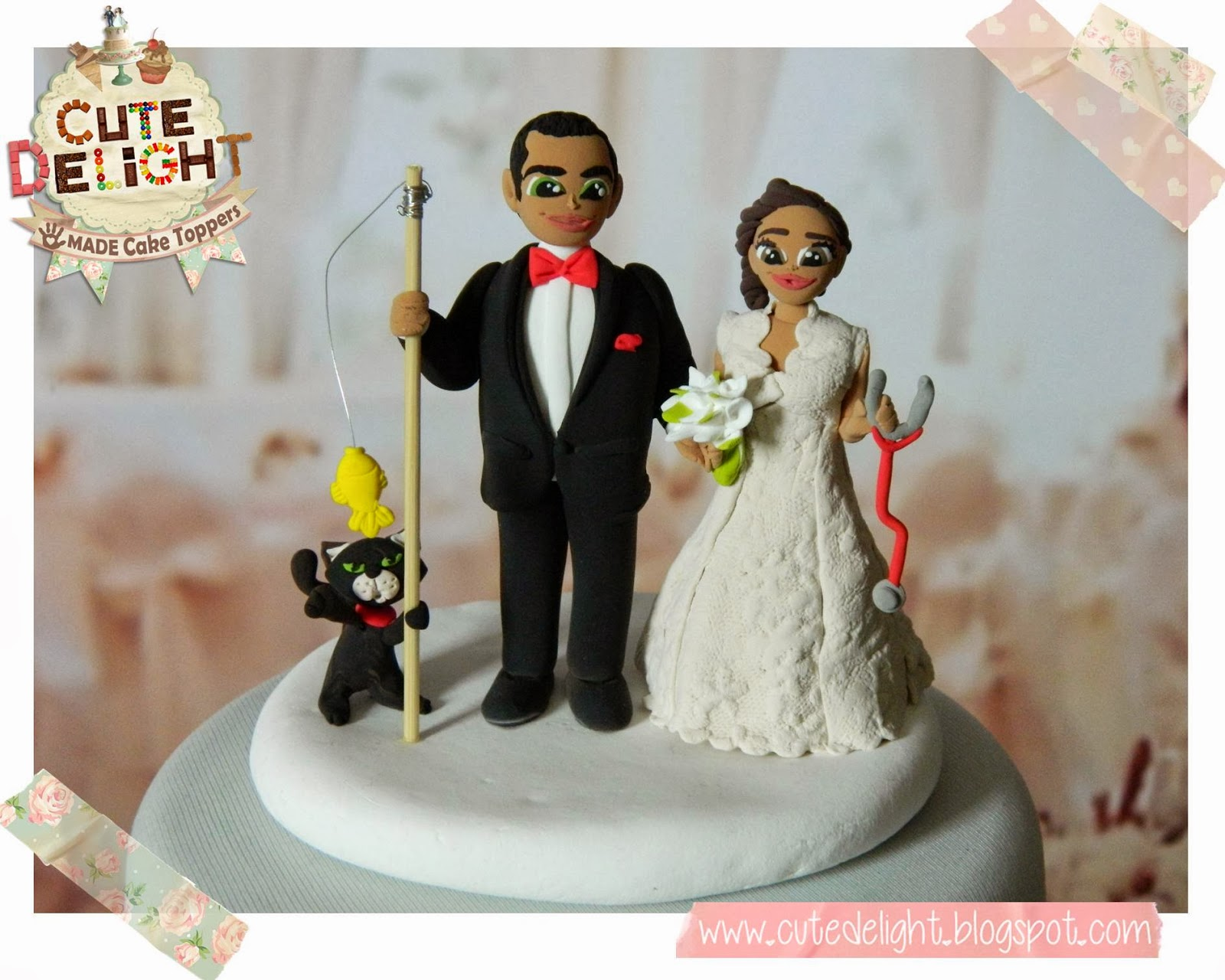 Wedding Cake Toppers Custom Cake Topper Funny Cake Toppers