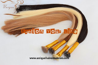 customer order nano ring hair extensions