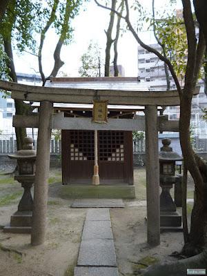 素盞烏尊神社八幡社鳥居