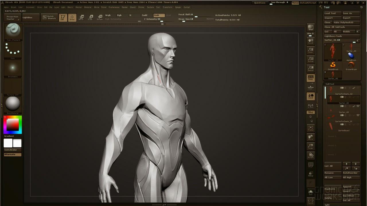 Gnomon 3D Character Design Sculpt, Model, Render with Josh Herman